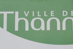 Thann - den sydlige indgang til vinruten i Alsace