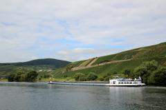 Vandvejen Mosel - Der er en betydelig fragtskibsfart på Mosel